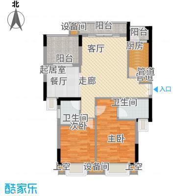 康田紫悦府78.51㎡一期洋房B9五-七层户型