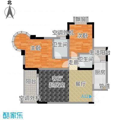 银翔城71.37㎡1期3、4栋楼标准层B3户型