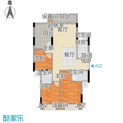 康田紫悦府82.08㎡一期洋房B5三层户型