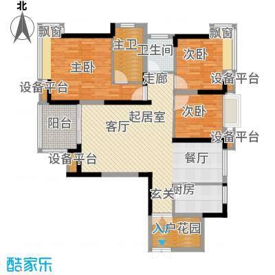 珠江太阳城94.75㎡A-1、A-2号楼面积9475m户型