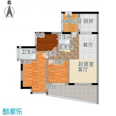海棠晓月蓝滨城107.00㎡B面积10700m户型
