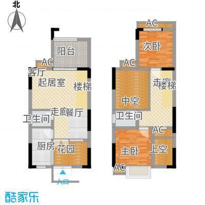 浩博方山境98.00㎡二期9号楼1、6号房标准层户型