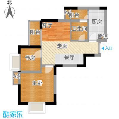上海城47.43㎡35号楼03、07(面积4743m户型