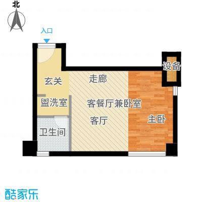 亚太商谷39.80㎡D型A3栋(售完)面积3980m户型