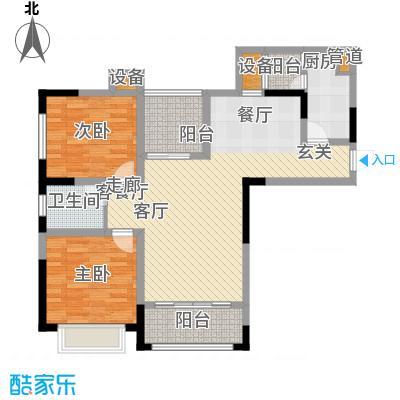 融创御锦82.70㎡二期1-7号楼标准面积8270m户型