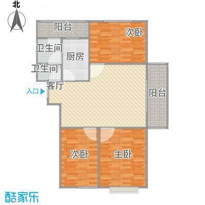 玖玺10号楼101.5A户型东户
