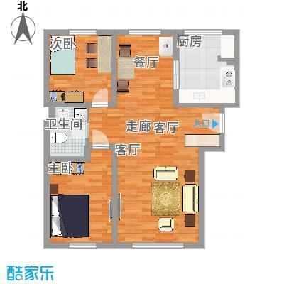 阳光嘉城三期94平E1两室两厅