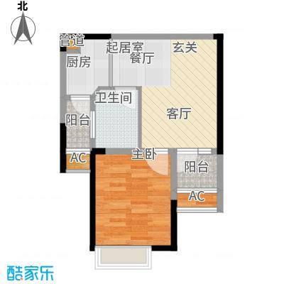 保利梧桐语42.00㎡公寓户型