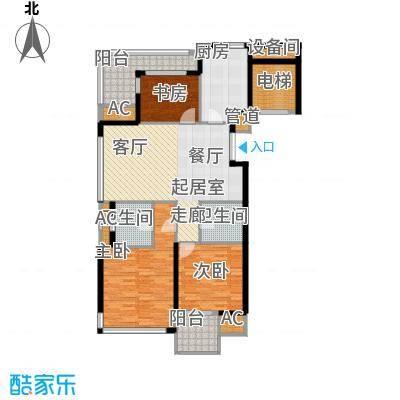 绿城西子百合公寓128.00㎡普通住面积12800m户型