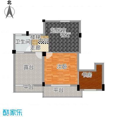 湖东阳光水岸66.76㎡普通住宅66面积6676m户型