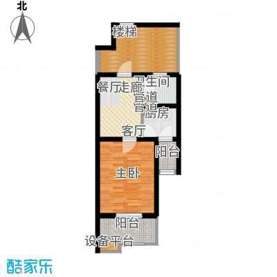米兰花园二期41.60㎡单身公寓41面积4160m户型