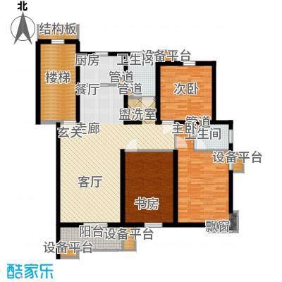 米兰花园二期120.00㎡普通住宅12面积12000m户型