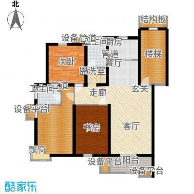 米兰花园二期116.50㎡普通住宅11面积11650m户型