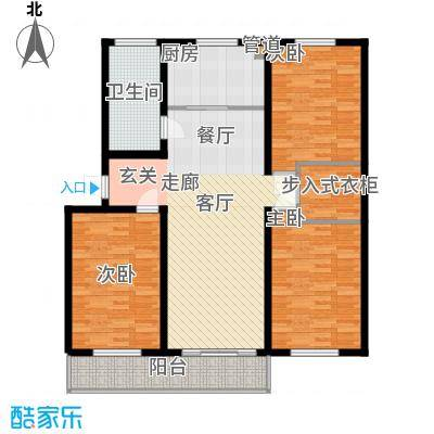 山水人家小区116.50㎡普通住宅11面积11650m户型