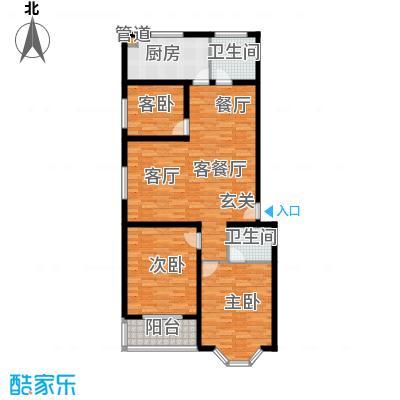阳光新馨家园112.00㎡B2面积11200m户型