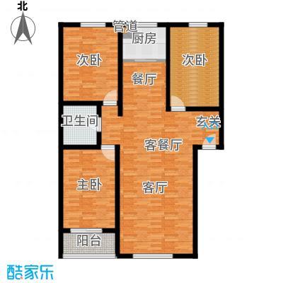 阳光新馨家园118.00㎡A2面积11800m户型