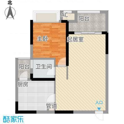 融创凡尔赛领馆二期8、9号楼标准层C1号房户型