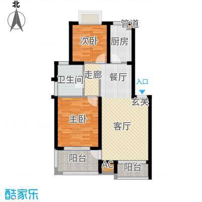 丽阳景苑84.98㎡普通住宅面积8498m户型