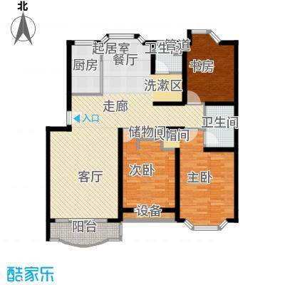 嘉业阳光城120.96㎡普通住宅120面积12096m户型