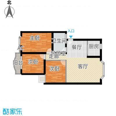 嘉业阳光城106.72㎡普通住宅106面积10672m户型