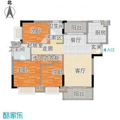 亿丰怡家公馆112.00㎡B-1户型