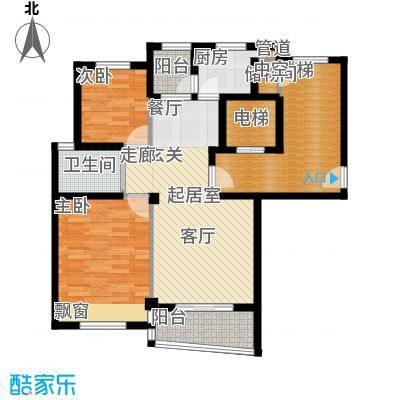 碧海莲缘90.00㎡四期小高层E户型