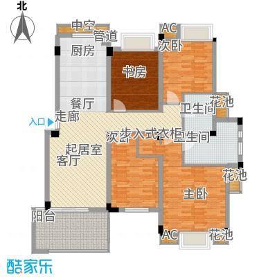 保亿风景沁园136.00㎡多层D(A)-3(2)户型