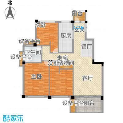 邦泰中央花城122.00㎡E户型