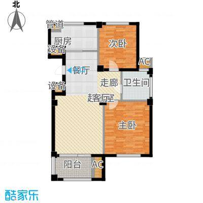 东方公寓97.00㎡2号楼B户型