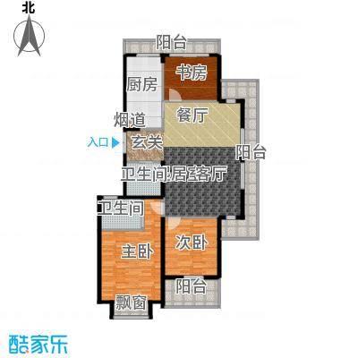 新湖保亿御景国际138.86㎡B1(2)户型