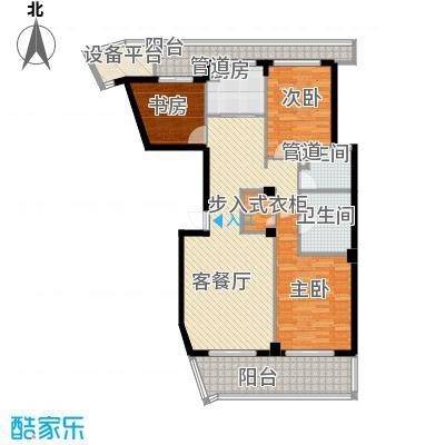 绿城长峙岛香樟园150.00㎡D户型