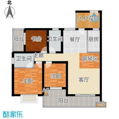 川东瀛嘉天下111.07㎡一期1/2/9/10号楼5-8楼Aa户型