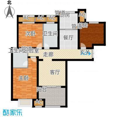 融信新新家园133.00㎡D户型
