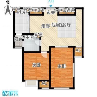 融信新新家园81.00㎡C户型