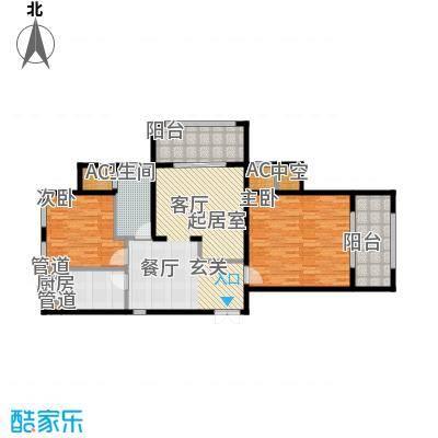 融信新新家园107.00㎡A户型