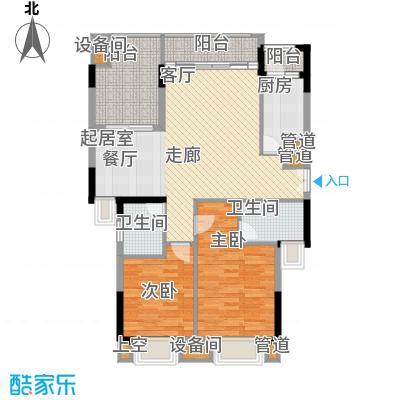 康田紫悦府78.51㎡一期洋房B7四层户型