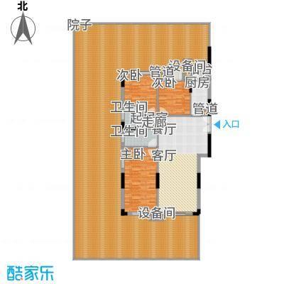 康田紫悦府98.69㎡一期洋房C1\C2\C3一层户型