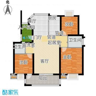 丽阳景苑二期122.50㎡一面积12250m户型