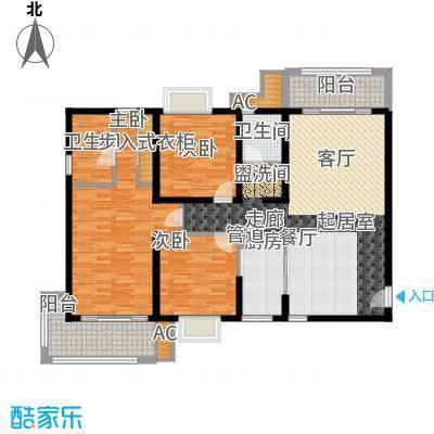 丽湖名居新时代广场132.07㎡普通面积13207m户型