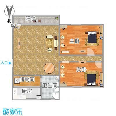 麒麟花园A1栋04户型--家家顺刘远东13006636053绘制