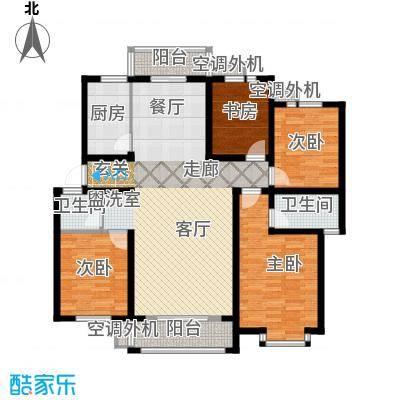 金宸花园137.00㎡普通住宅面积13700m户型