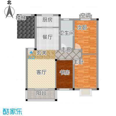 龙凤花园普通住宅户型