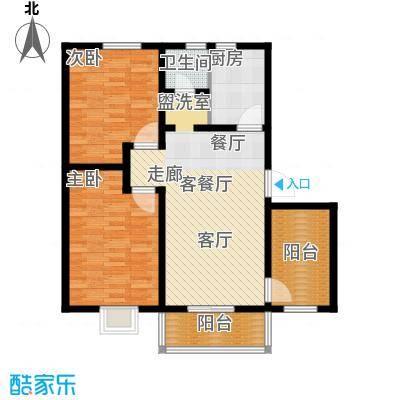 凤凰苑西区普通住宅2户型
