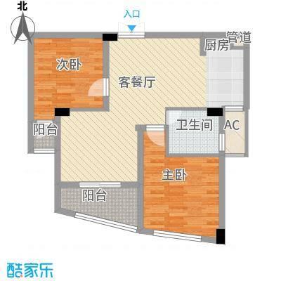 太湖阳光假日86.00㎡普通住宅86面积8600m户型