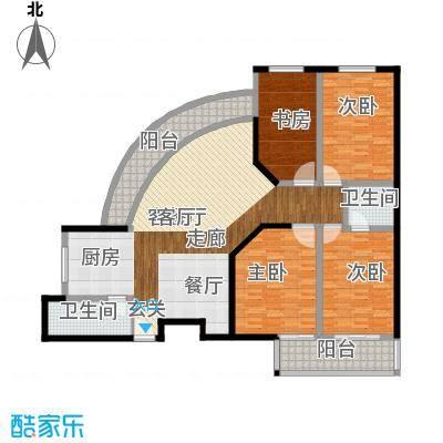 凤凰万隆公寓165.53㎡普通住宅16面积16553m户型
