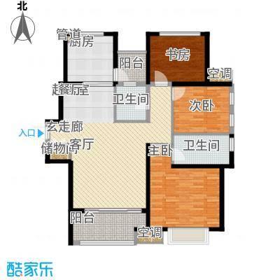 农房澜山119.00㎡高层公寓A11户型