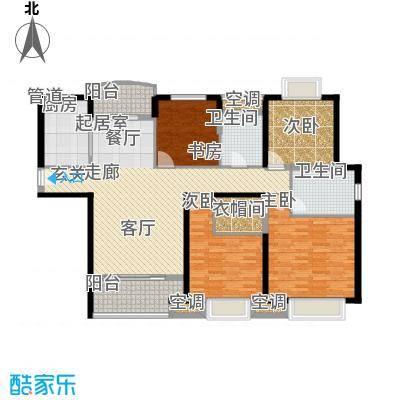 农房澜山138.00㎡高层公寓A2户型