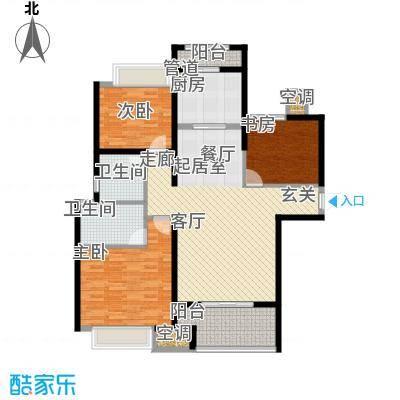 农房澜山118.00㎡高层公寓C11户型