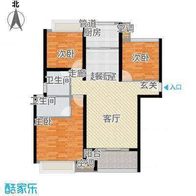 农房澜山113.00㎡高层公寓C1户型