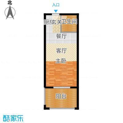 黄岩书香园57.40㎡574户型